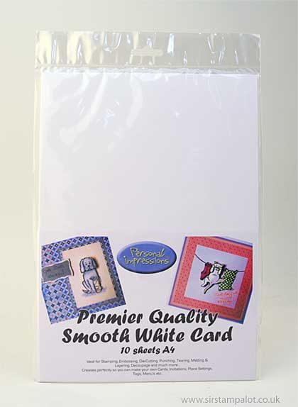 A4 Premier Quality Smooth White Card (10 Sheets)