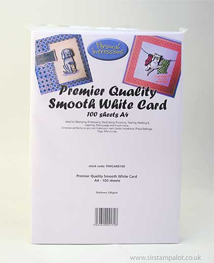 A4 Premier Quality Smooth White Card (100 Sheets)