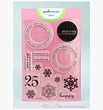 Paula Pascual Clear Stamps - Large Christmas