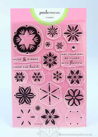 Paula Pascual Clear Stamps - Filled with Flowers