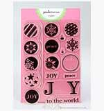 Paula Pascual Clear Stamps - Joyful Bubbles