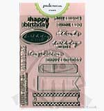 Paula Pascual Clear Stamps - Every Tab Messages