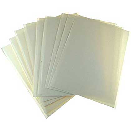 Personal Impressions A4 Foam Sheet Selection Pack, White, (A4, 1mm, 2mm and 3mm)