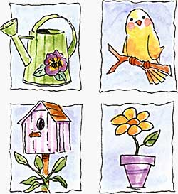 Simply Stated - Birdhouse Set