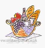 Small Wine Basket
