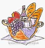Large Wine Basket