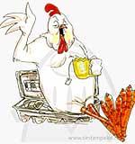 'Birdie' & Egg Carton
