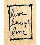 Mini Live Laugh Love