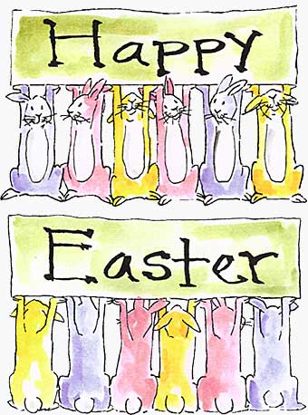 Front n Backs - Easter Bunnies