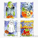 Halloween (Set of 4)