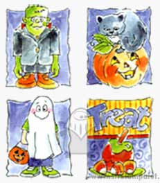 Halloween (Set of 4)