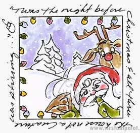 Santa Window