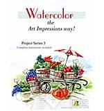 Watercolour Project 3 - Veggie Cart