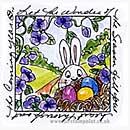 Easter Egg Nest Window