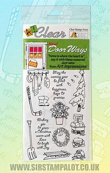 Door Ways Clear Set - December - January