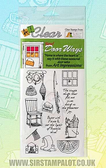 Door Ways Clear Set - June - July