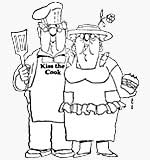Golden Oldies - BBQ Couple