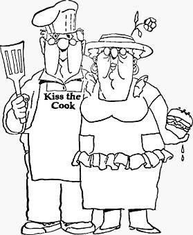 Golden Oldies - BBQ Couple