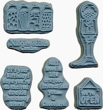 Door Ways - Unmounted Stamps - Candy Shoppe