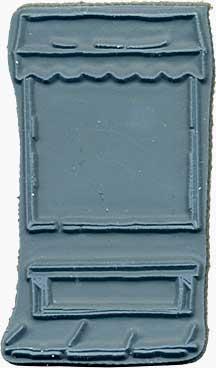 Door Ways - Unmounted Stamp - Shoppe Window