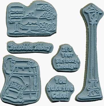 SO: Door Ways - Unmounted Stamps - Bakery