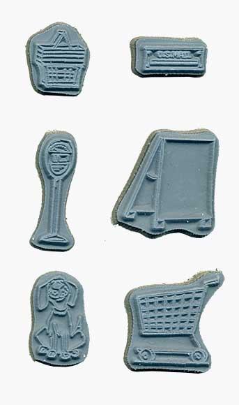 Door Ways - Unmounted Stamp set - Accessories
