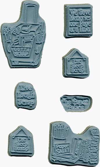 Door Ways - Unmounted Stamp set - Scrap Stamp Shoppe
