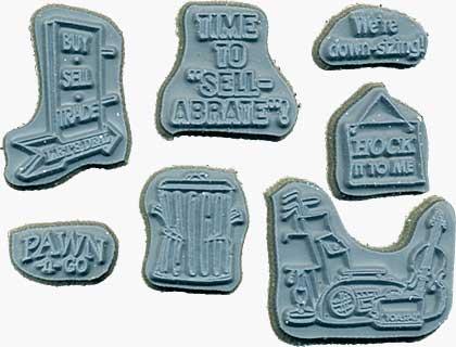Door Ways - Unmounted Stamps - Pawn Shoppe