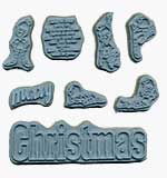 Door Ways - Unmounted Stamps - Christmas Holiday Set