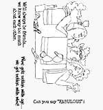 EZ Mount Stamp set - In the Tub