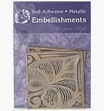 Magenta Embellishments - Leaf