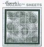 "Magenta Style - 1"" Mosaic Tiles - Self Adhesive"