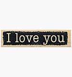 Reversed I love you