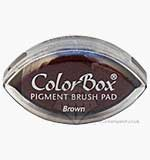 SO: ColorBox Pigment Brush InkPad - Brown