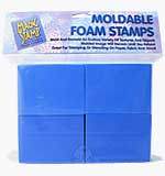 Magic Stamp Heat Activated Moldable Foam Stamps (8 Pack)