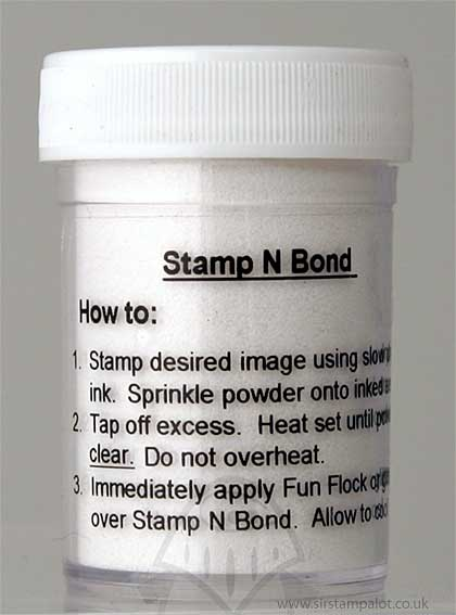Stamp and Bond - Heat Activated Adhesive Powder