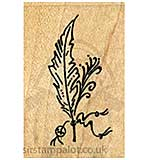 Safaras - Beaded Feather
