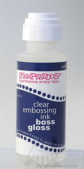Boss Gloss - Clear Embossing Ink