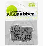 Stampendous Cling - Thank You