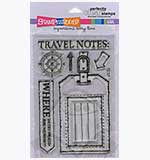 Perfectly Clear Stamps - Travel Notes