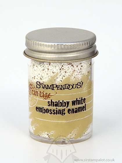 Stampendous - Frantage Embossing Enamel - Shabby White
