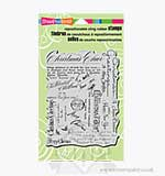 SO: Stampendous Cling - Christmas Background