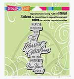 Stampendous Cling - Merriest Wish