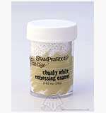 SO: Stampendous - Frantage Chunky Embossing Enamel - White