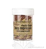 Chunky Copper Deep Impression Embossing Enamel