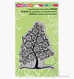 Stampendous Cling - Snowflake Tree