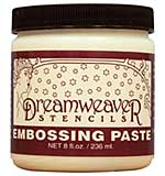 Dreamweaver Embossing Paste 8oz - Matte White