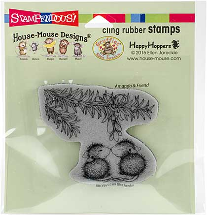 SO: Stampendous House Mouse Cling Stamp - Trumpet Blast