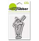 Stampendous Cling Stamp - Ice Cream Float