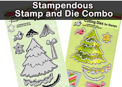 Stamp and Die Combo - Christmas Tree